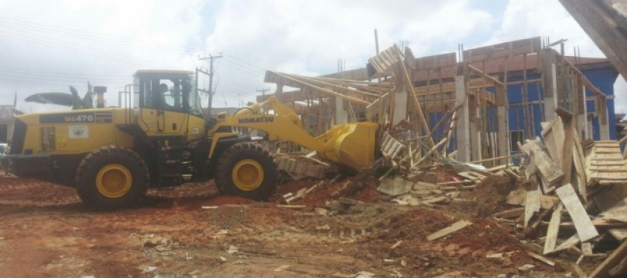 Minister Orders for Demolition of Buildings